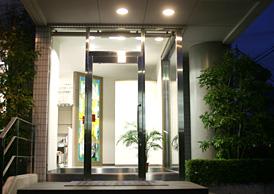 池田歯科医院入口