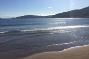 冬の海は意外に暖かかった
